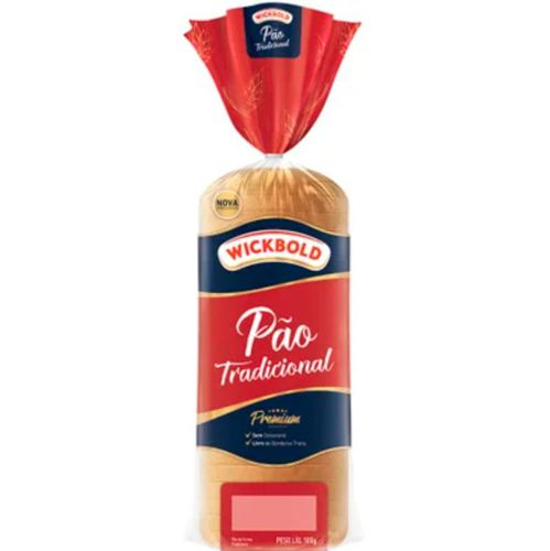 Pão de forma tradicional premium