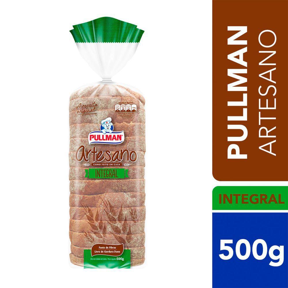Pão de forma artesano integral