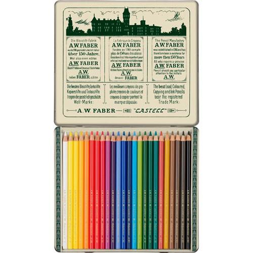 Lápices de colores polychromos 1908 retro con 24