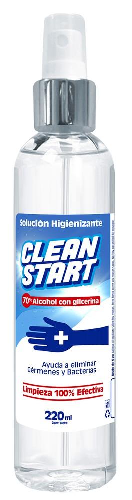 Alcohol 70 con glicerina