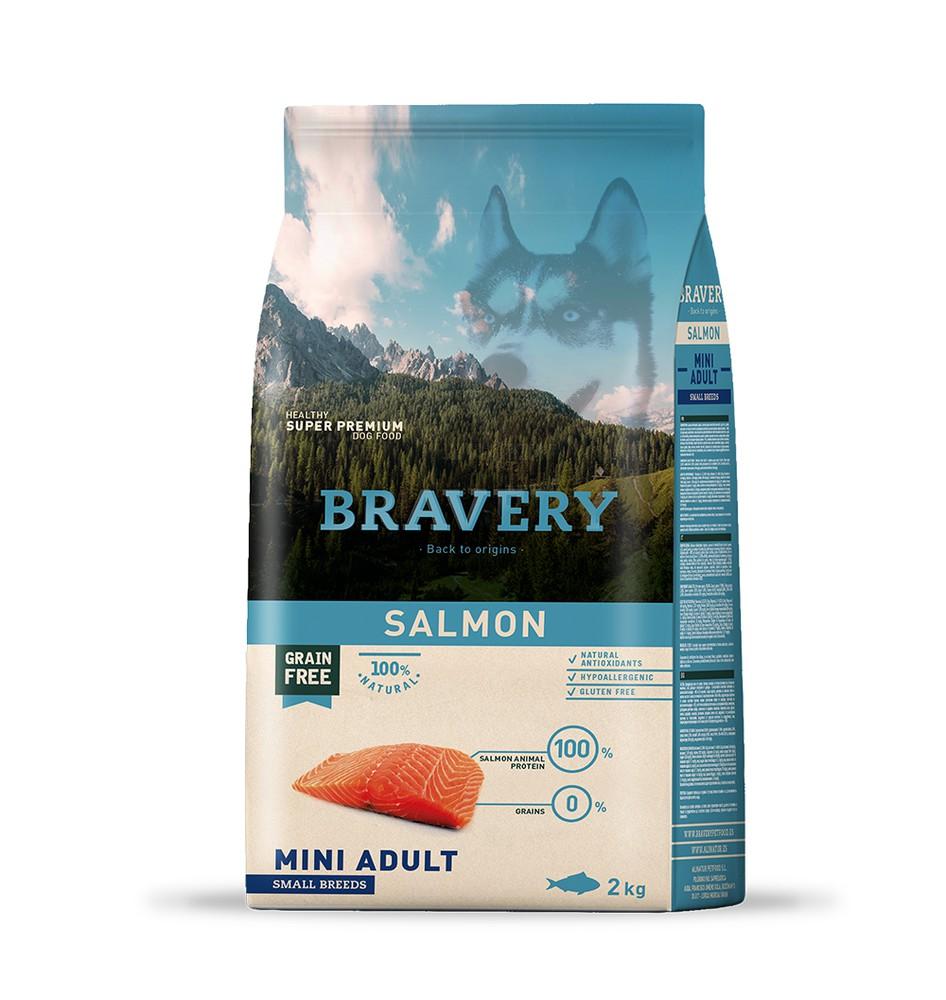 Salmon mini adult small breeds