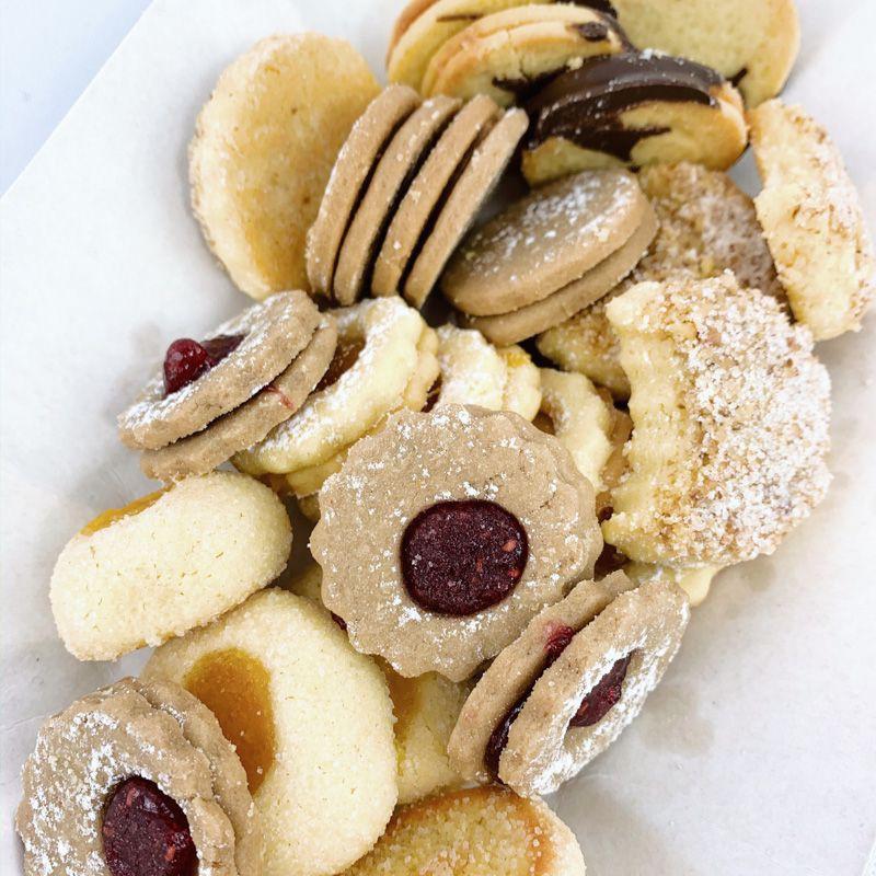Surtido de galletas finas 250 gr. Aprox 25 UN