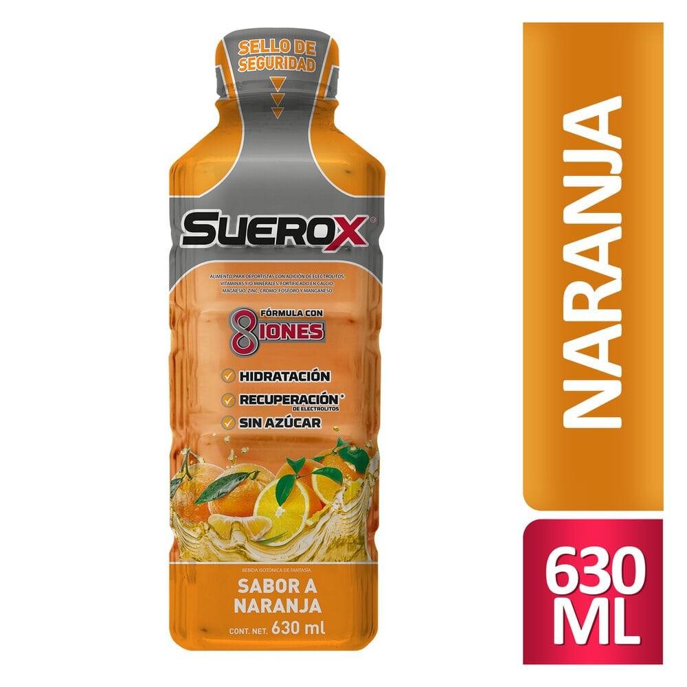Bebida hidratante sabor naranja