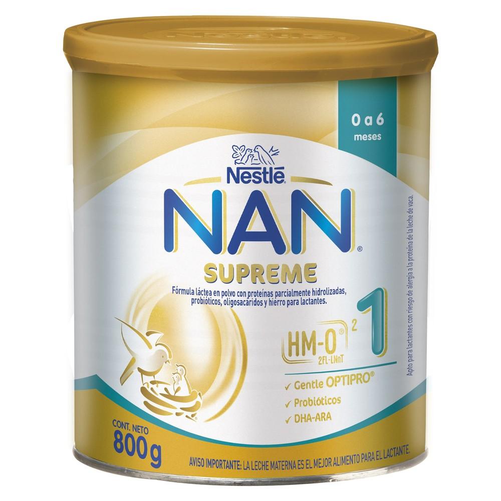 Fórmula láctea Nan supreme 1