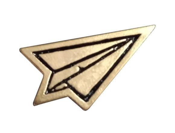 Avión de papel #1 3x4 mm