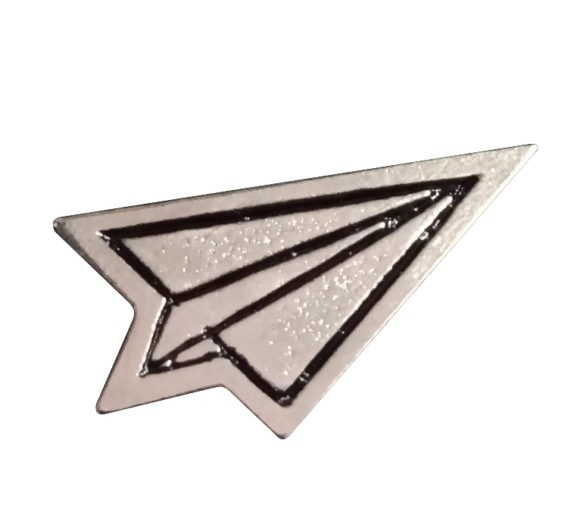 Avión de papel #2 3x4 mm