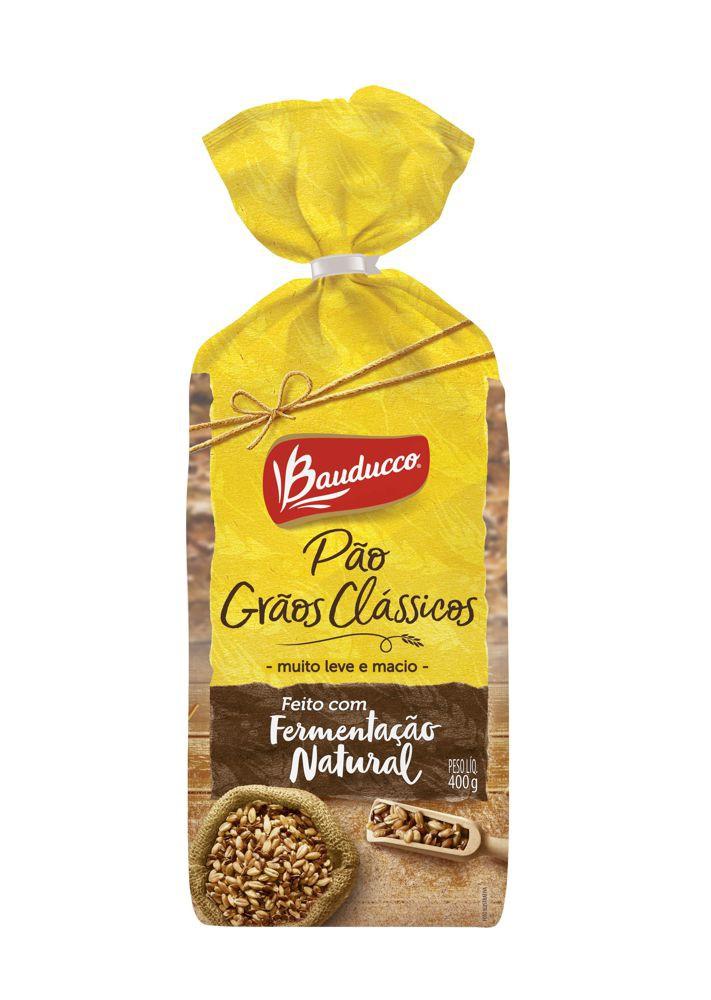 Pão fermentação natural grãos clássicos