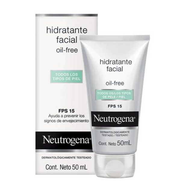Hidratante facial oil free FPS 15