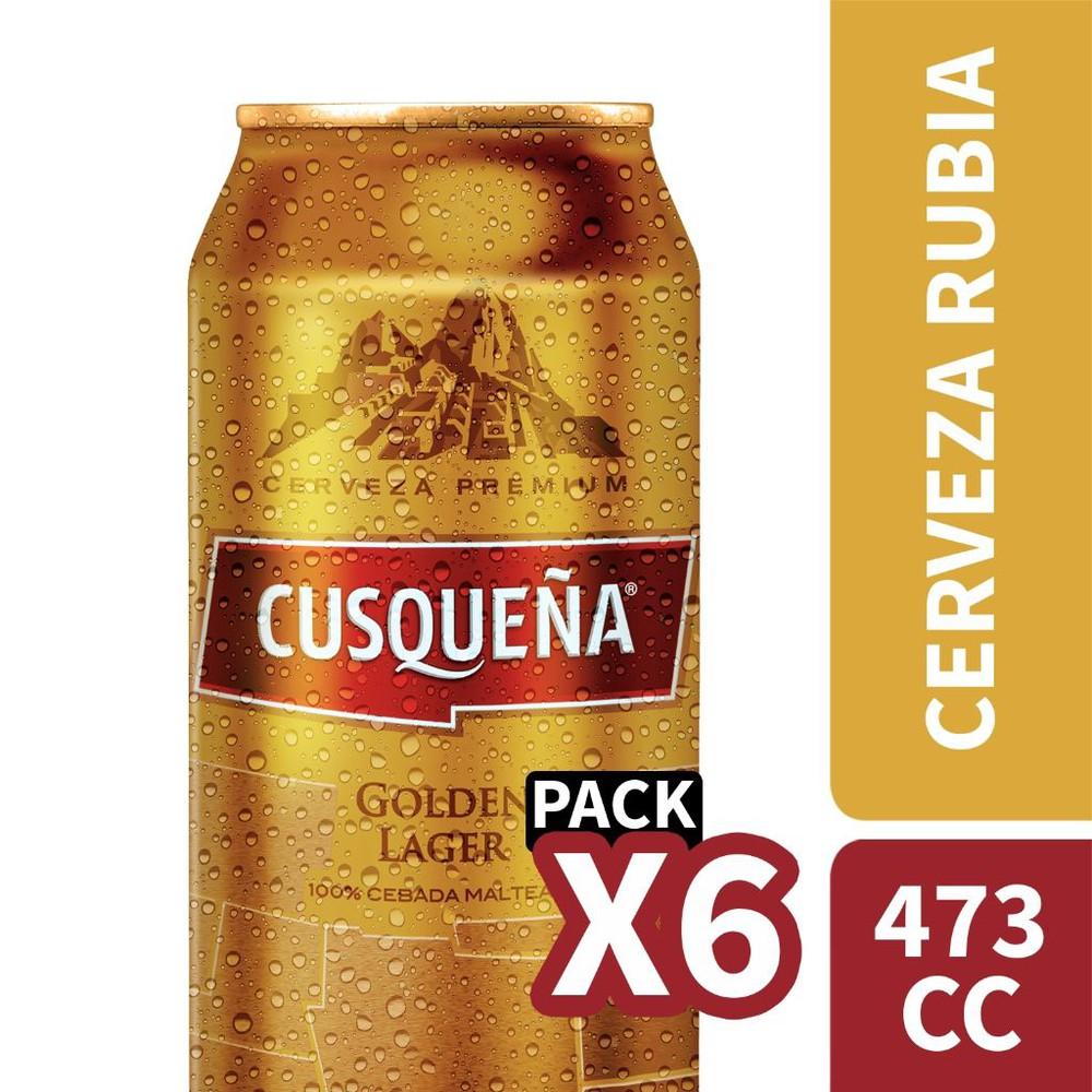 Golden lager 100% malta x6
