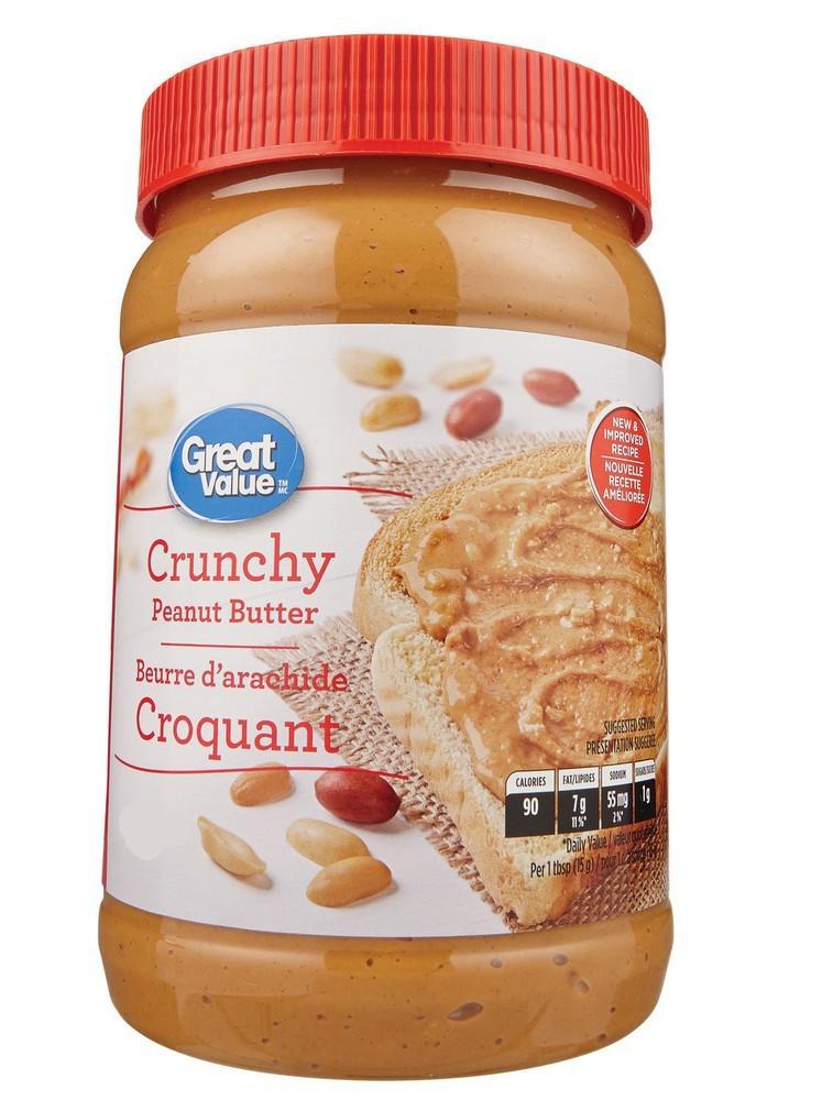 Mantequilla de maní crunchy