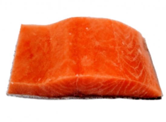 Salmón congelado en porción al vacío Empaque 200 g