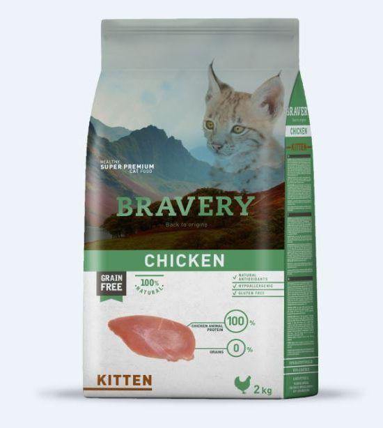 Alimento kitten sabor pollo