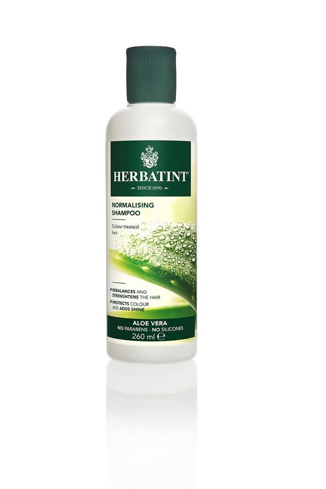 Shampoo normalizante  con aloe vera 260 ml.