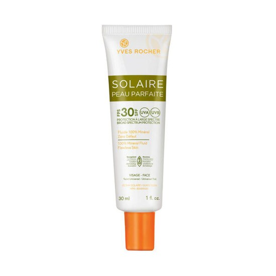 100% mineral fluid flawless skin spf 30 - face 30 ml