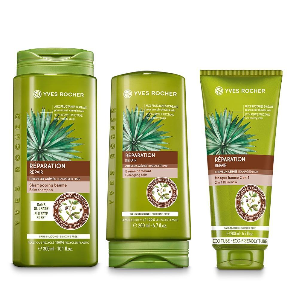 Mask repair trio - hair care routine 300ml, 200ml and 200ml