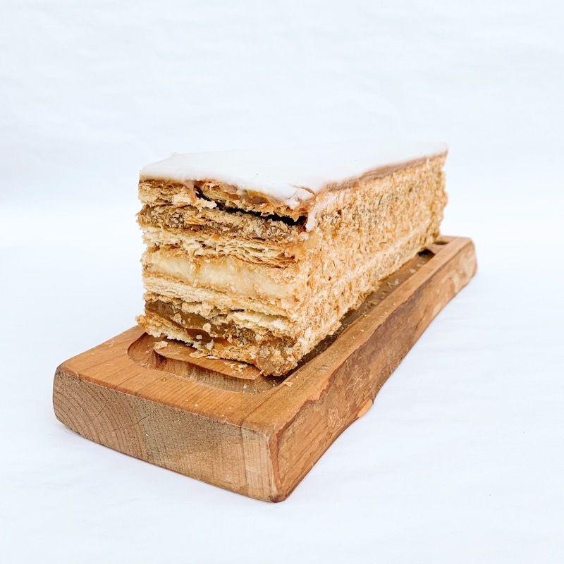Tira hoja manjar pastelera 8 porciones aprox.