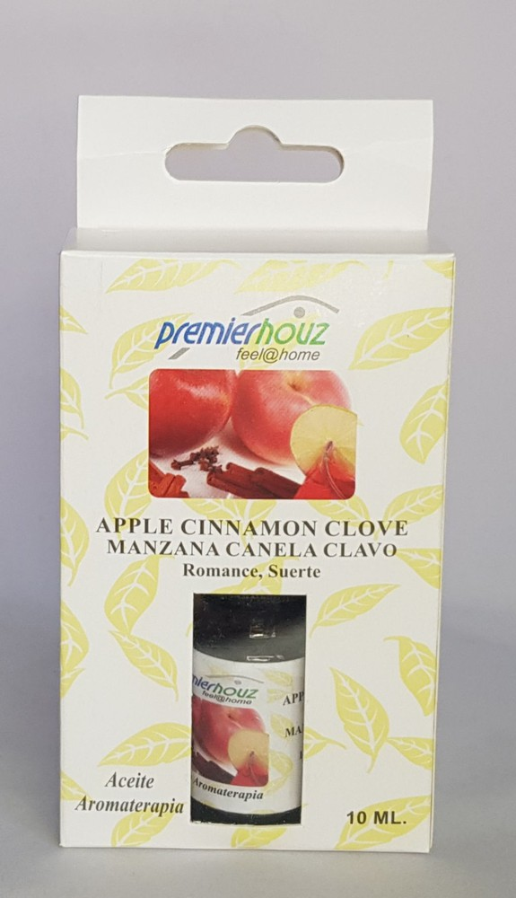 Aceite de aromaterapia para difusor de manzana, clavo de olor