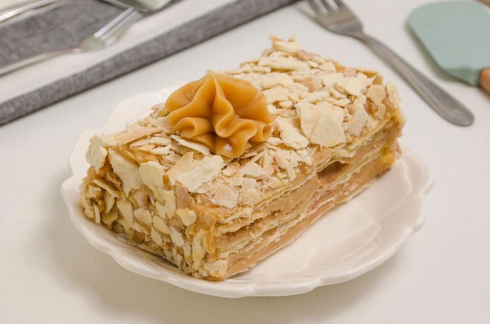Hojarasca manjar pastelera 1 porción