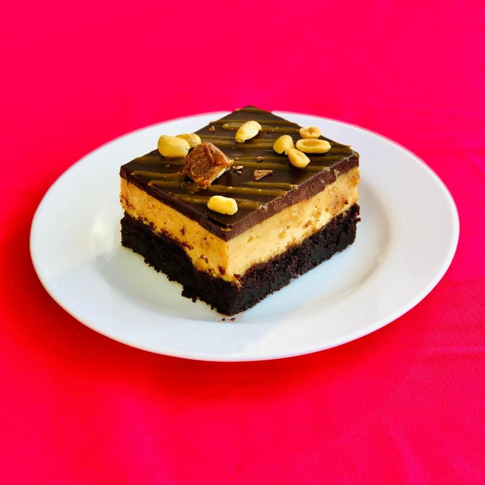 Torta Snicker Porción individual