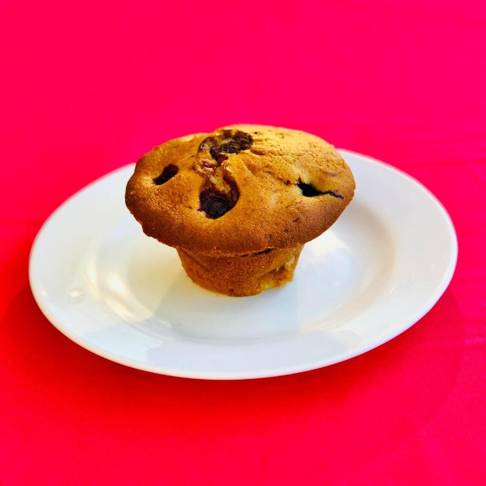 Muffin Triple Berries Porcion individual 200gr