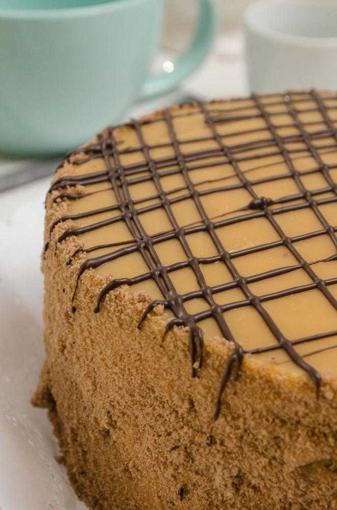 Torta panqueque chocolate manjar 15 personas