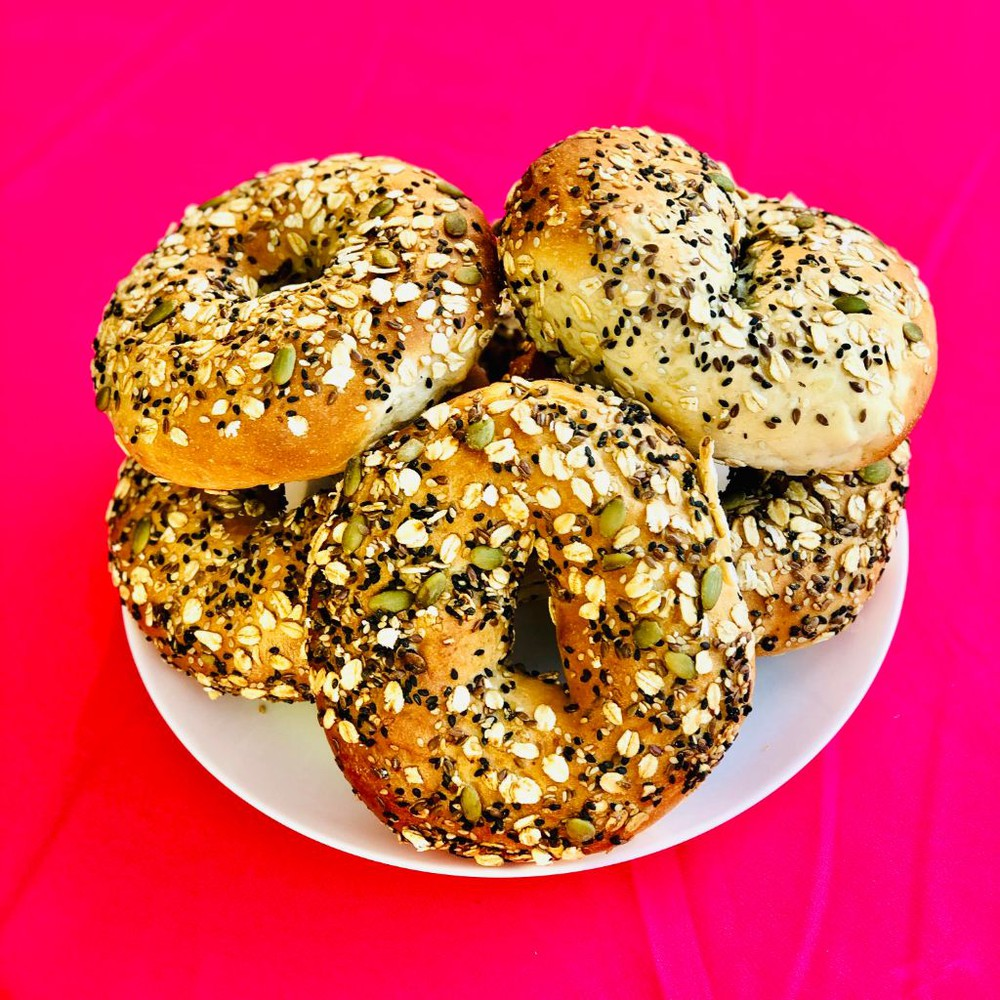 Combo pan bagel 6 x 320 g