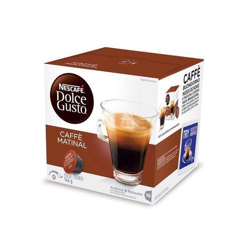 Café torrado e moído Dolce Gusto café matinal