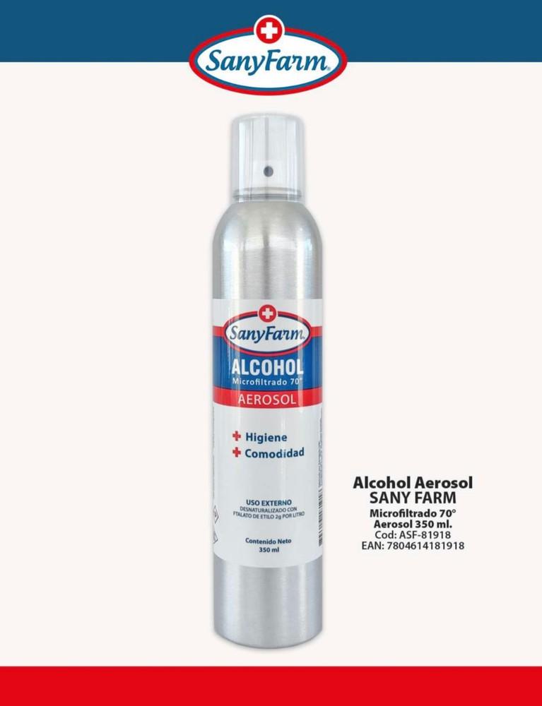 Alcohol Aerosol 70° 350 ml