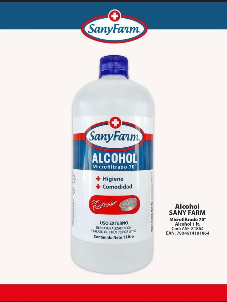 Alcohol Liquido 70° 1000 ml