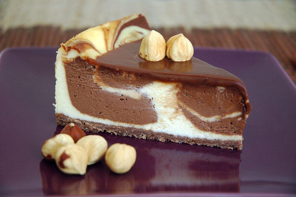 Porción Cheesecake Nutella