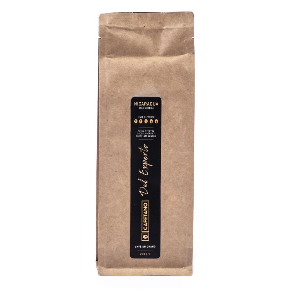 Café Nicaragua Del Experto en Grano 250 Grs. Bolsa de 250 gramos en grano
