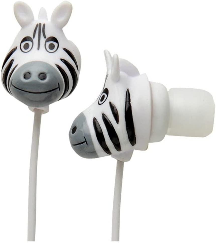 Audifonos zoo buds cebra Blister 9x2x13 cms