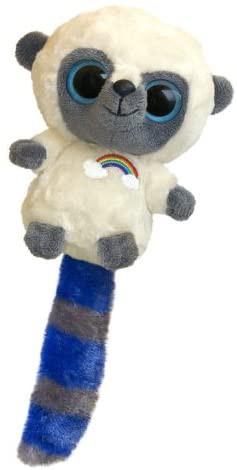 Yoohoo arco iris con sonido incorporado colas de diferentes colores Unidad aprox 13 cms / Incluye Carnet de Adopción Original de Adopta tu Mascota