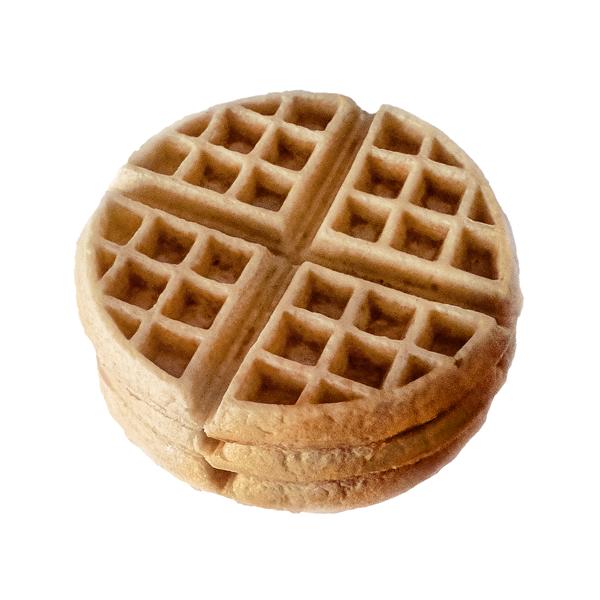 Waffles almendra