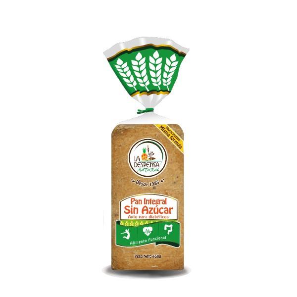 Pan integral libre azuc