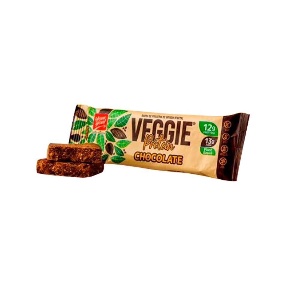 Barra veggie protein chocolate