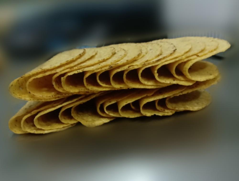 """Taco shells 6"""" 12 Unidades por bolsa"""