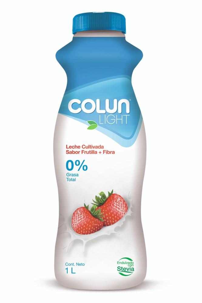 Leche cultivada light sabor frutilla