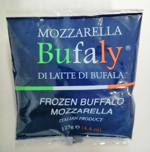Mozzarella di bufala campana FROZEN 125 gr