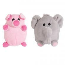 Pack elefante y chancho 2 u x 10 cm c/u