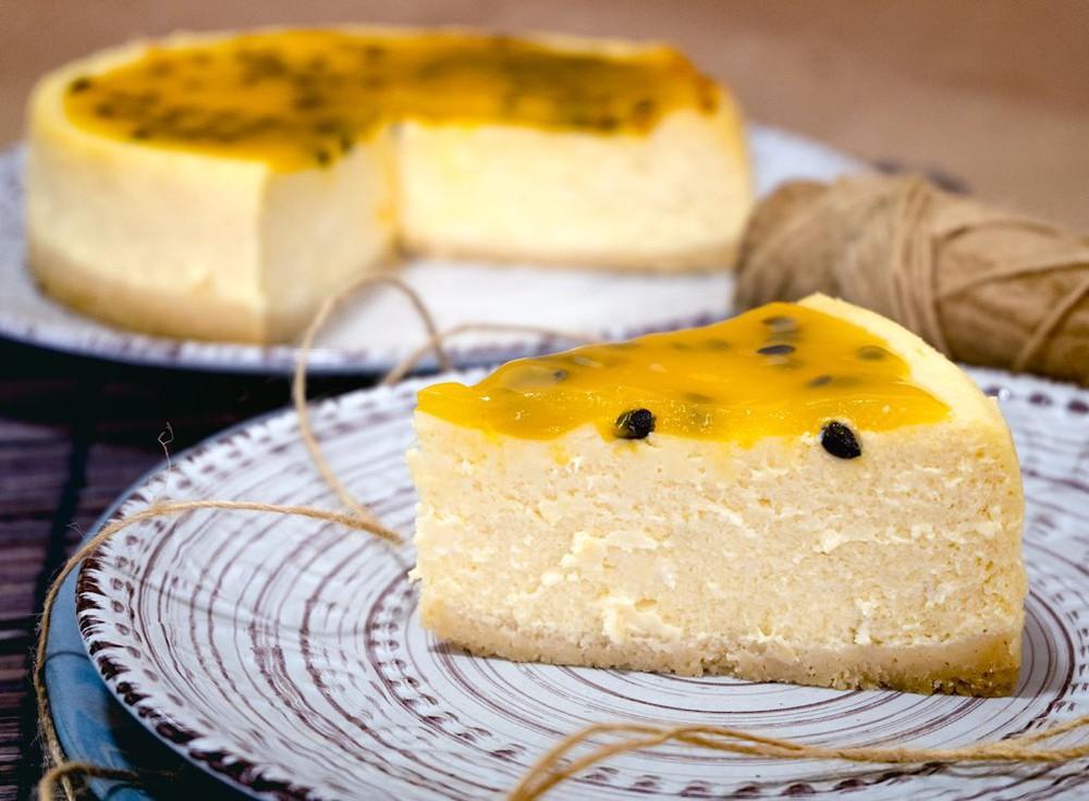 Porción Cheesecake Maracuyá