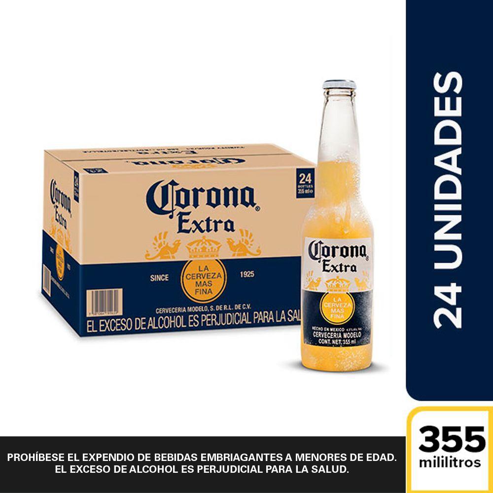 Pack Cerveza botella 24 x 355 ml c/u