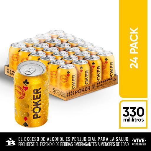 Pack cerveza 24 x 330 ml