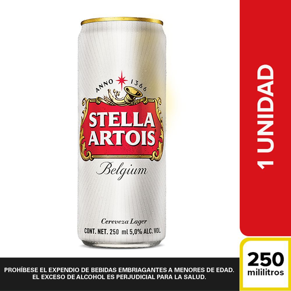Cerveza lata Lata 250 ml
