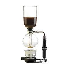 Sifón de vacio para café 3 tazas Un sifón