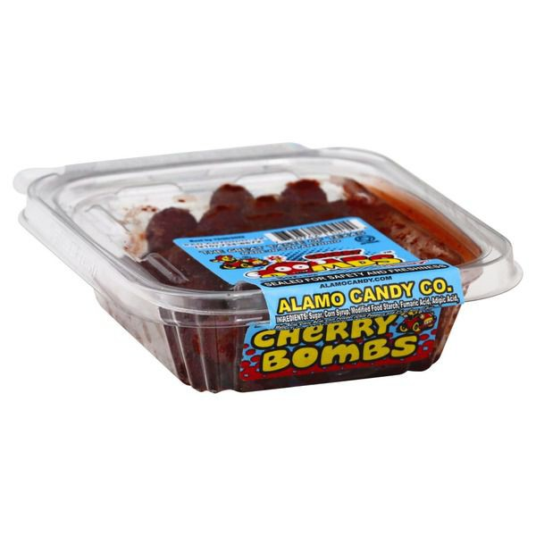 Alamo Candy Cherry Bombs Sweet Sour With Chili Chewy Delivery Cornershop
