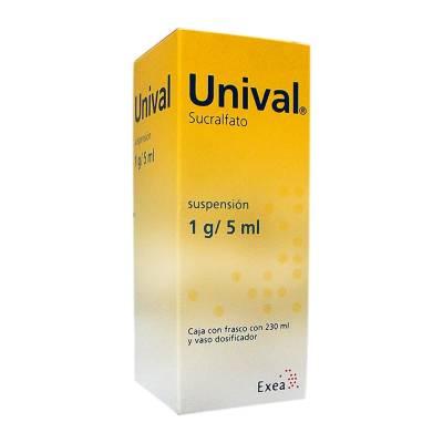 Unival suspensión 1 g / 5 ml