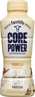 High protein milkshake vanilla