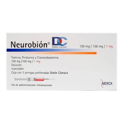 Neurobión 100 mg/100 mg/1 mg