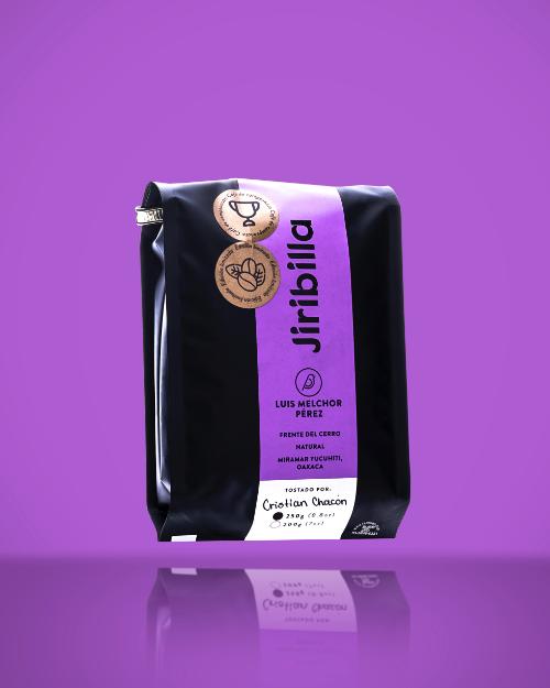 Café en grano - yucuhiti oaxaca natural Bolsa de 250 g